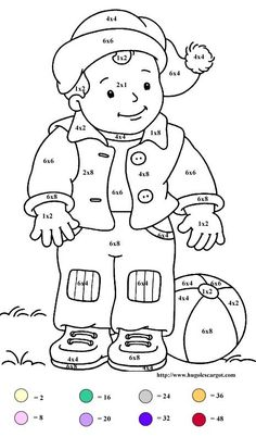 MULTIPLICATION COLORING WORK SHEETS « Free Coloring Pages