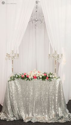112 Best Silver Wedding Decorations images in 2020 | Silver ...