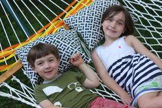 DIY Hammock Pillows | Buzzmills