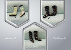 Miniature rain boots •1/12 Scale Dollhouse • miniatura pintado a mano •Botas de lluvia  escala 1/12 . Accesorios para casa de muñecas. Rain Boots, Etsy, Frame, Home Decor, Home Accessories, Dollhouses, Handmade Gifts, Miniatures, Picture Frame