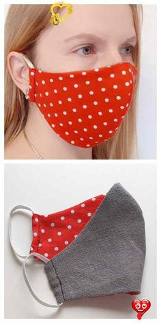 DIY Fabric Face Mask Free Sewing Patterns & Paid+ Video | Fabric Art DIY  <br> Sewing Patterns Free, Free Sewing, Free Pattern, Pocket Pattern, Pattern Sewing, Dress Patterns, Diy Mask, Diy Face Mask, Homemade Face Masks