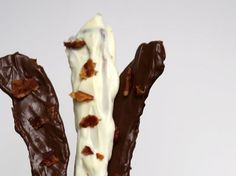 Tocino cubierto con chocolate: | 18 Recetas con tocino súper sencillas que te harán agua la boca