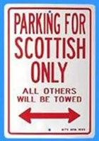Parking for Scottish only