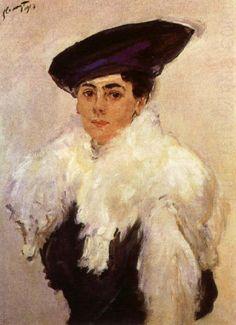 Portrait of Mrs, Max (Martha) Liebermann 1912, by Max Liebermann (1847-1935)