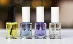 YMMA é uma marca focada em serviços e produtos de tratamento das unhas como endurecedores e óleos de cutículas.