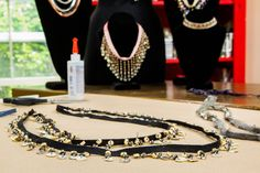 These DIY Necklaces & Chokers by @orlyshani are perfect accessories for your fall wardrobe! For more DIYs, watch Home & Family weekdays at 10a/9c on Hallmark Channel!