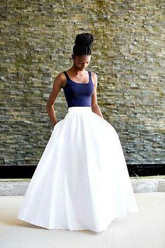 Angel Maxi Skirt