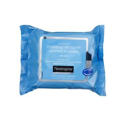 Some wipes are so sudsy that you need to rinse after using them. Not so with Neutrogena Makeup Remover Cleansing Towelettes. The just-moist-enough sheets render skin soft and totally bare.