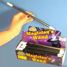 15 x MAGIC PARTY WANDS,KIDS GOODY,LOOT,BAG FILLER,TOYS,MAGICIANS PARTY