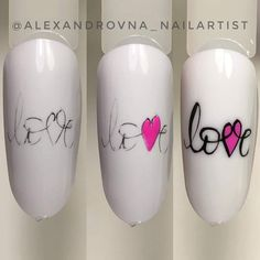 Heart Nail Art, Dot Nail Art, Heart Nails, Nail Manicure, Gel Nails, Stiletto Nails, Acrylic Nails, Cute Nails, Pretty Nails