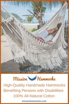 Mission Hammocks handmade macrame hammock is one of our best sellers. Can be used as an indoor/outdoor hammock, comes in king hammock size. It's the best 2 person hammock! Indoor Outdoor, Indoor Swing, Outdoor Hammock, Hammock Swing, Double Hammock, Outdoor Rooms, Outdoor Gardens, Outdoor Living, Maya