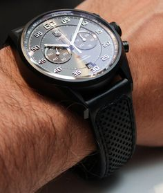 Tag Heuer Carrera Calibre 36 Chronograph Flyback Watch Hands-On: Racing With El Primero Hands-On