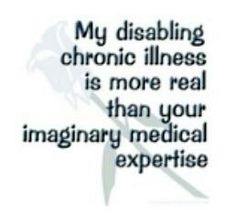 I LOVE this one. Would love to tell some doctors this.........V