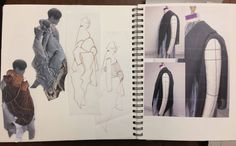 Academy of Art University Designer Flora Cervantes to present at Mercedes-Benz Fashion Week Sketchbook Designer, Fashion Design Sketchbook, Fashion Design Drawings, Fashion Sketches, Fashion Illustrations, Trendy Fashion, Classy Fashion, Fashion Fashion, Fashion Ideas