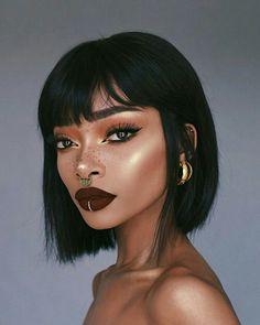 Improve makeup with these mac makeup looks Tip# 0707 Makeup Goals, Makeup Inspo, Makeup Inspiration, Makeup Tips, Beauty Makeup, Hair Beauty, Makeup Ideas, Makeup Style, Nyane Lebajoa