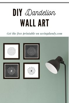This circle and dandelion wall art is perfect for decorating in modern farmhouse style. Plus, free printables that you can create the DIY home decor look! #diy #printables #farmhousestyle #modernfarmhouse #homedecor #printable #farmhouse #dandelion #wallart #decorating #momlife #freeprintable Diy Wall Art, Home Wall Art, Diy Wall Decor, Decor Crafts, Do It Yourself Decorating, Diy Decorating, Modern Farmhouse, Farmhouse Style, Dandelion Wall Art