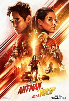 """Ant man Wasp Marvel HOT Popular Comic 36/"""" x 24/"""" Large Wall Poster Print Movie"""