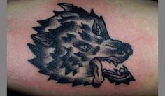 Dark Wolf Tattoo