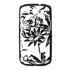 Transparent flowers Galaxy S3 Case