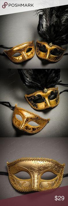 Couple Masquerade eye mask Costume Bachelor Graduation prom birthday surprise