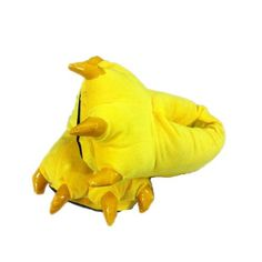 Yellow Japanese Pikachu Claws Shoes Anime Cosplay Halloween Costume Plush Slippers US 6-8 Size « Shoe Adds for your Closet