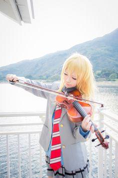 Shigatsu wa kimi no uso Your lie in april Kaori tumblr_nj5isvGJFK1s2jn44o1_1280.jpg (1280×1920)