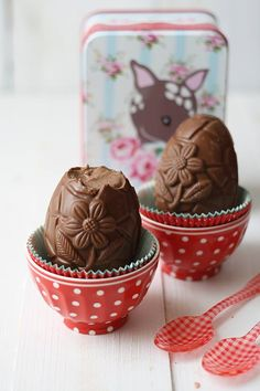 Oeufs chocolat