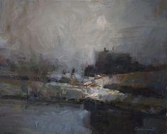 Landscape Paintings by Sahin Karakoc – Fubiz™