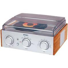 JENSEN JTA-220 Stereo 3-Speed Turntable with AM/FM Receiver & 2 Built-in Speaker by Jensen. $54.09. Model No: JENJTA220. Save 50% Off!