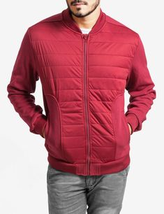 37540452dfd1 The Herman is a trendy lightweight bomber jacket.