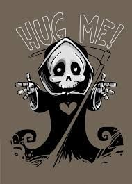 cute grim reaper coloring pages - Google Search