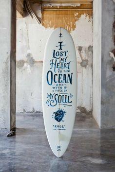 My heart belongs to the ocean.