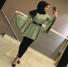 Discover recipes, home ideas, style inspiration and other ideas to try. Modest Fashion Hijab, Modern Hijab Fashion, Muslim Women Fashion, Arab Fashion, Hijab Fashion Inspiration, Islamic Fashion, Modest Outfits, Fashion Outfits, Modesty Fashion