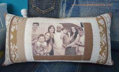 Mãe!   tricô   almofada de recordações
