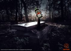 Création Halloween pour Jagermeister