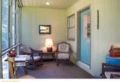 A screened porch is such a great addition. A cup of tea or glass of wine and a great book!