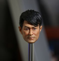 "1:6 scale male Figure accessories Hong Kong star Louis Koo Tin Lok head shape carved for 12"" Action figure doll.not include body"