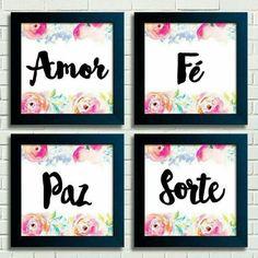 Amor, Fé, Paz e Sorte