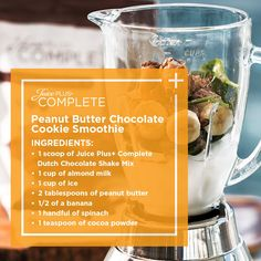 Cookie Inspired Shakes with Juice Plus+ Complete