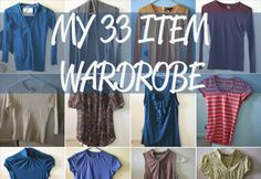 33-Item minimalist wardrobe Project 333