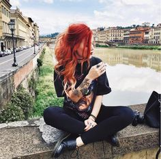 3 Perfect Hairstyles & Outfits For The Events In Your Life Edgy Outfits, Grunge Outfits, Cute Outfits, Fashion Outfits, Dr. Martens, Looks Rock, Mode Grunge, Estilo Grunge, Luanna