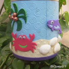 Recycling craft :Tin can recycling