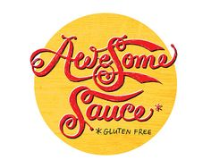 Gold Awesome Sauce 16 x 20 print by giggleboxdesign on Etsy, $65.00