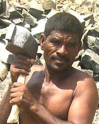 Please pray for the Vaddar people of India, a group of people known for what they build with their hands.  But, the Vaddar are very poor, and most of them do not know about Jesus' love for them.  Please pray that God will build up a mighty church in the hearts of the Vaddar.  You can read more here: http://www.globalprayerdigest.org/index.php/issue/day/Vaddar-People2/