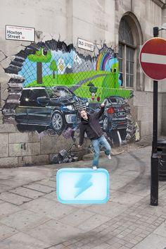 Blur Street Art
