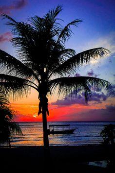 Sunset from The Cabana of Foster's ~ Roatan, Honduras Beautiful Islands, Beautiful World, Beautiful Places, Beautiful Pictures, Honduras Travel, I Need Vitamin Sea, Dawn And Dusk, Roatan, Beautiful Sunrise