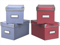 """Design Bloggers Spill: """"The Best Thing I Ever Bought at IKEA""""  kassett boxes for office"""