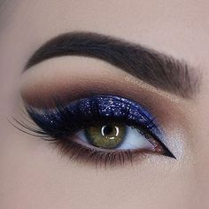 Our inspiration to #BeGlamorous is coming from this sparkly purple eye shadow! What inspires you to be glamorous?