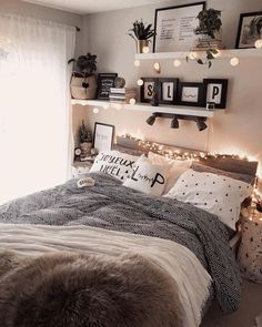 Home Decor Themes 43 cute and girly bedroom decorating tips for girl 39 - -.Home Decor Themes 43 cute and girly bedroom decorating tips for girl 39 - - Cool Teen Bedrooms, Kids Bedroom Sets, Girls Bedroom, Master Bedroom, Modern Bedrooms, Master Suite, Budget Bedroom, Bedroom Black, Bedroom 2018