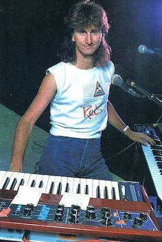 Geddy Lee Of Rush - Keyboard Magazine - September 1984 - courtesy of Cygnus-X1.Net